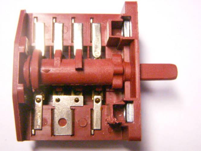 Пятипозиционный переключатель электроплиты на 4*4 контакта