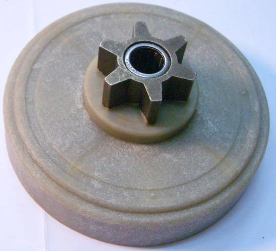 Капроновая шестерня d88*z56 для цепной пилы Gruntek, AL-KO KE 1800/40S