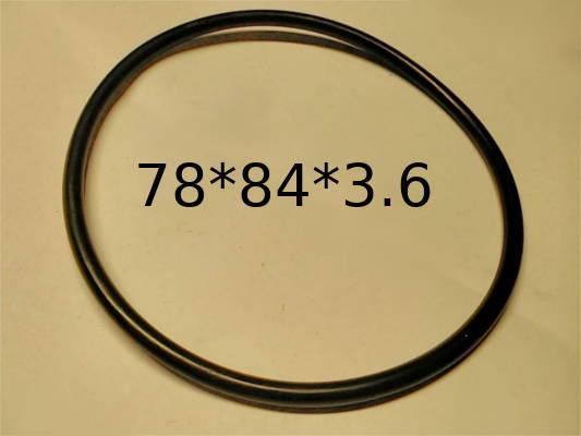 Уплотнительное кольцо размером 78*84 диаметром 3.6 мм