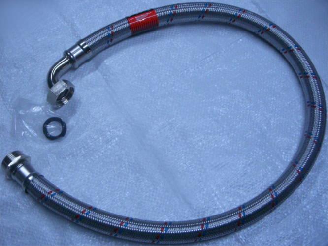 Металлический шланг 1 метр для гидроаккумулятора насосной станции