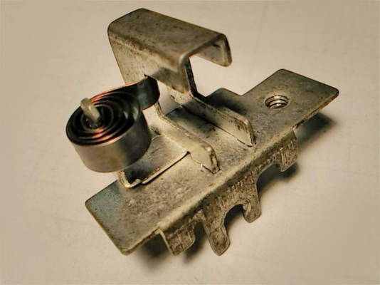Металлический щеткодержатель 13*43 6*16 для электропилы