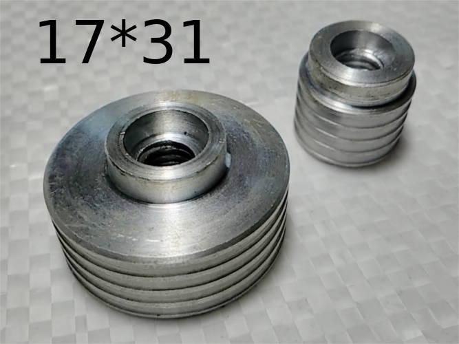 Комплект шкивов 30-17 мм для электрорубанка Einhell, Бикор