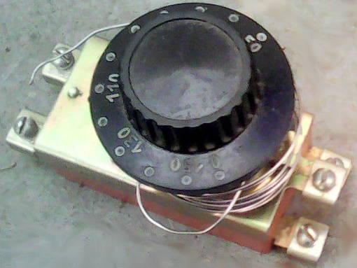 Терморегулятор для промышленной электроплиты до 20 Ампер на капилляре 2.5 метра