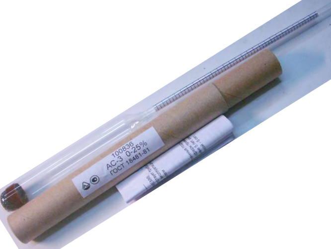 Лабораторный сахаромер 0-25% ГОСТ
