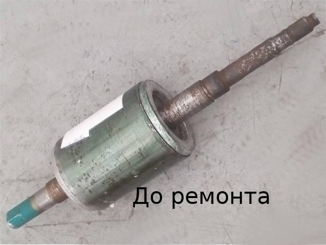 Реставрация ротора насосной станции AU JET 110, JY 1000