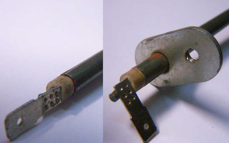 Нагревательный тэн 110В для электродуховки Vimar VEO-5930 длиной 510 мм