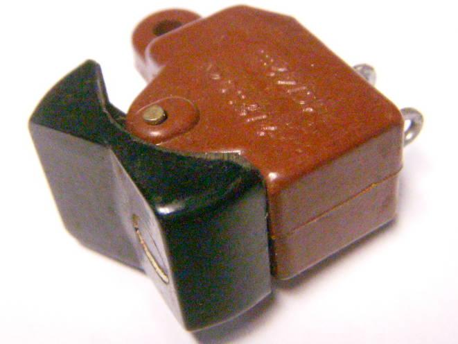 Мини переключатель советского пылесоса на 2 ампера