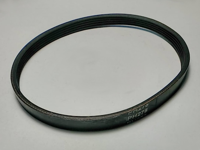Ручейковый ремень PH278 размером w8-L282-265 мм