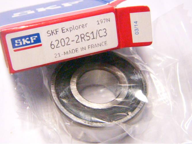 Высокотемпературный подшипник 6202 - 15*35*11 - 2RS1/C3