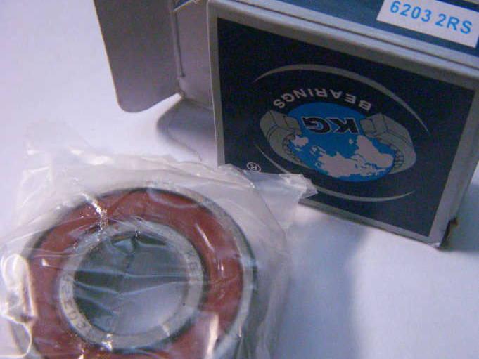 Индийский подшипник 6203-2RS с резиновой защитой