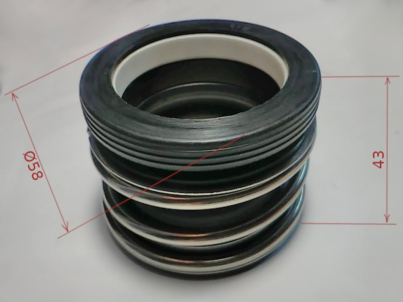 Торцевое уплотнение 109-40 для насоса и оборудования