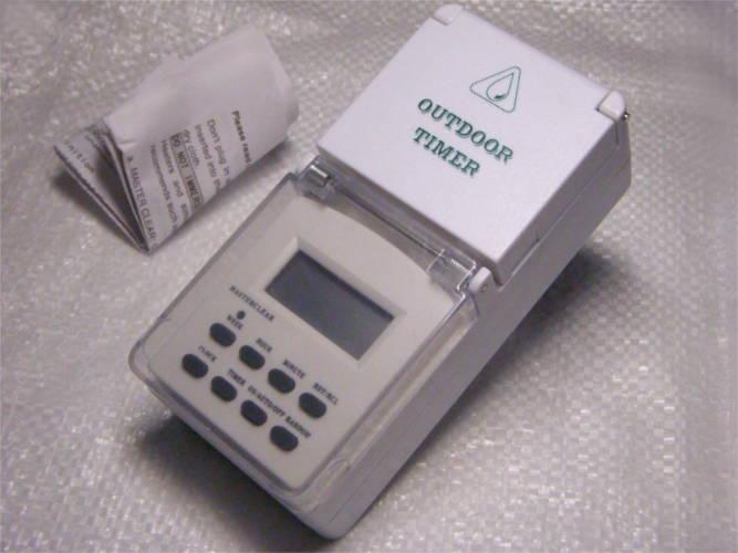 Уличный электронный таймер - программатор TM23 / 61926