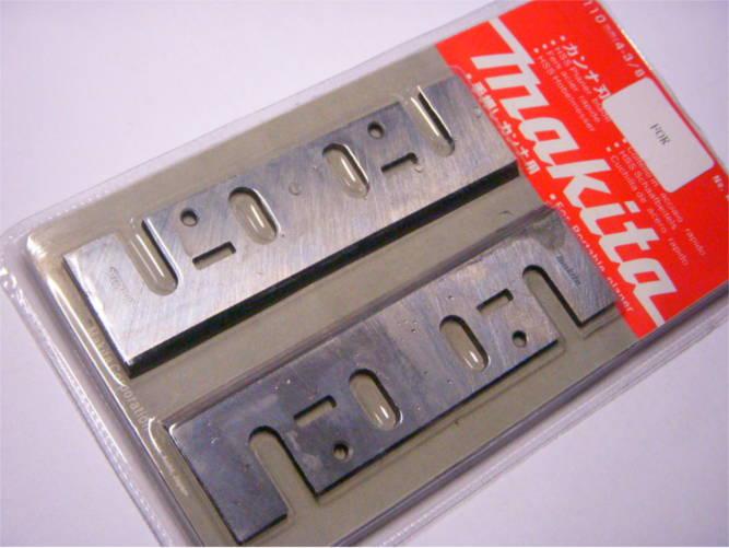 Комплект ножей 110 мм на электрорубанок Арсенал, Makita
