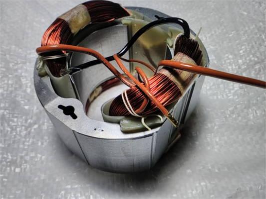Статор цепной пилы 405 шину ТЕМП, Тайга, CRAFT-TEC, Интерскол