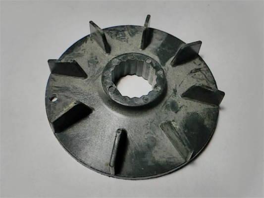 Крыльчатка 17*68 на 15 зубов под спил для охлаждения электродвигателя