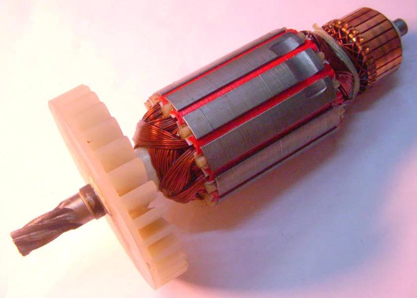 Якорь L163*d43 дисковой электропилы Витязь ПД-1500, Арсенал ПД-190, МЗПО ПД-185-1500