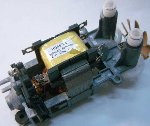 Электродвигатель HD45/20 кухонного миксера Dex, Saturn