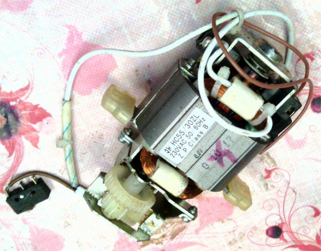 Электродвигатель  HC55 30ZL блендера типа Moulinex