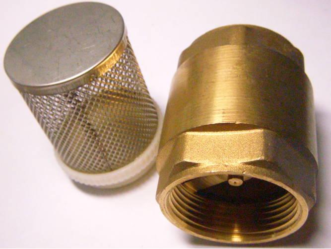 Обратный клапан 1-1/4*61 с фильтром