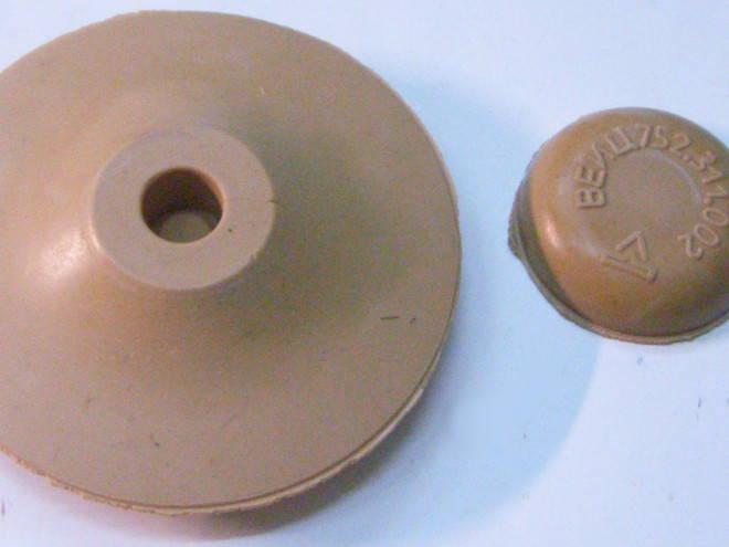 Комплект поршень и клапан для вибронасоса Малыш, Нива, Струмок