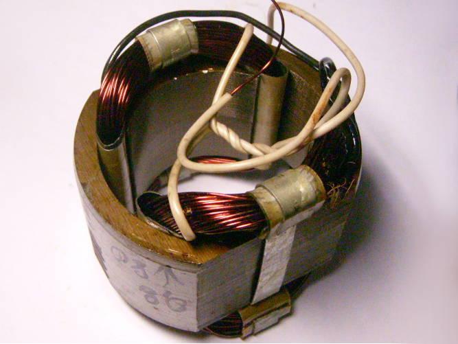 Ремонт статора 47x90 мм дисковой электропилы