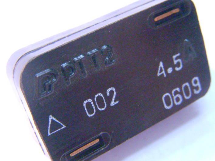 Тепловое токовое реле РТТ2 на 4.5 Ампера