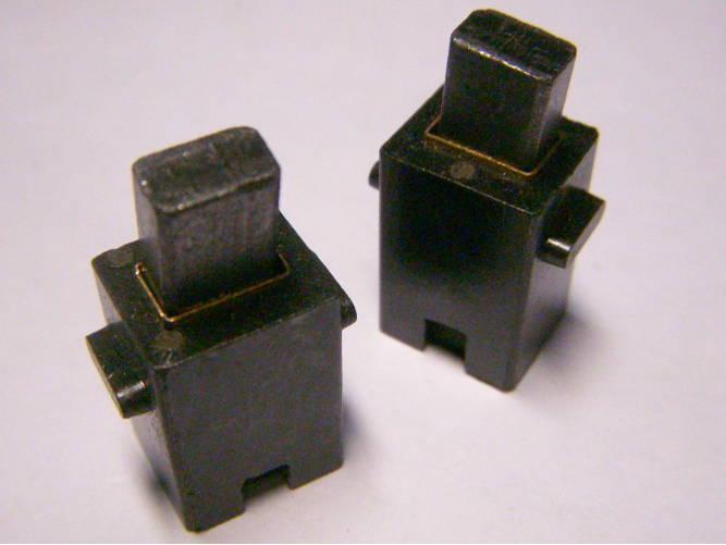 Комплект щеткодержателей размером 13*12*20 мм