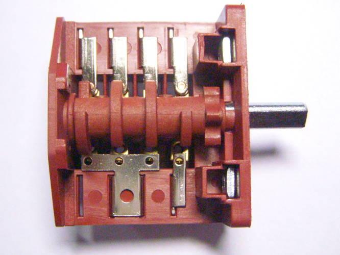 5-ти позиционный переключатель T125 10E3 ref:440 на 4*3 контакта для электроплиты Nord