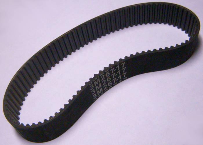 Зубчатый ремень HTD 3М267-17 для электрорубанка Интерскол, Байкал Е-314