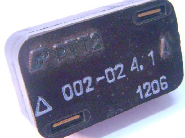 Пусковое реле РТТ-2 4,1 Ампера для насоса
