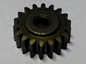 Шестерня 14*3мм*Z18 редуктора шуруповерта Ритм ДЭ-620Р, Электромаш ДЭ-900