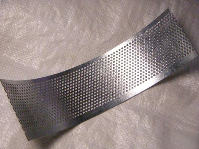 Сетка зернодробилки Икор 01 завода Промэлектро с ячейкой 3 мм