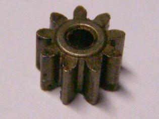 Шестерня двигателя шуруповерта Интерскол на 9 зубов