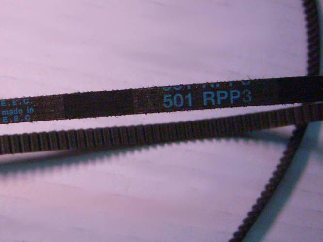 Зубчатый ремень 3M-501-6 на хлебопечку размером 501*6 мм