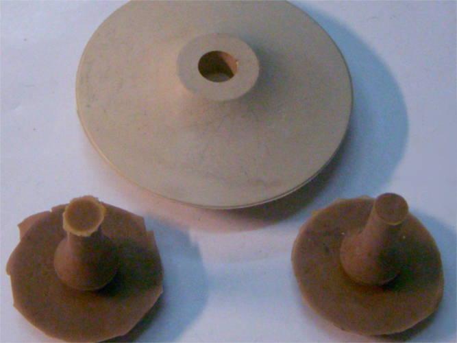 Ремкомплект поршень и два клапана для вибронасоса Водолей