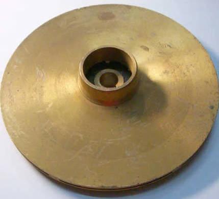 Латунное рабочее колесо для насоса типа Pedrollo CPM-170