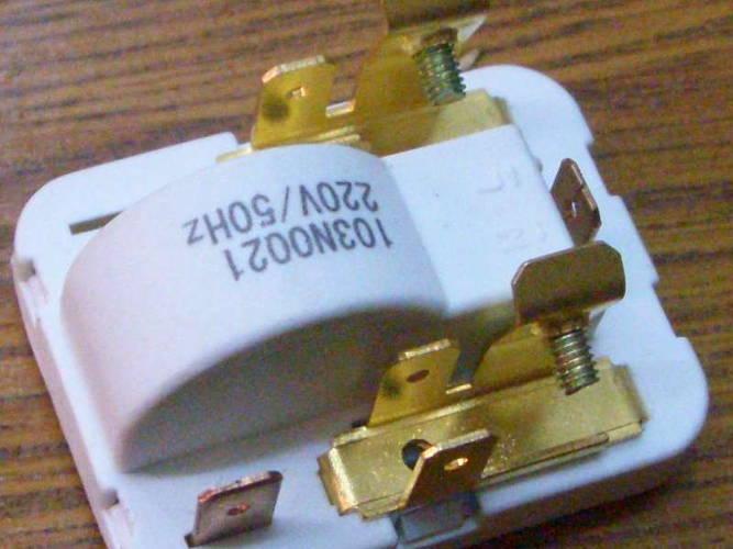 Пусковое реле 103N0021 для холодильника Danfoss