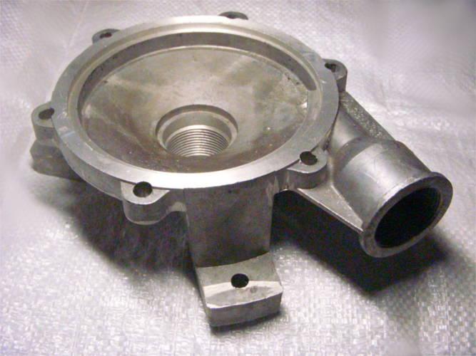 Нижняя алюминиевая крышка поверхностного насоса БЦН 3.5 17