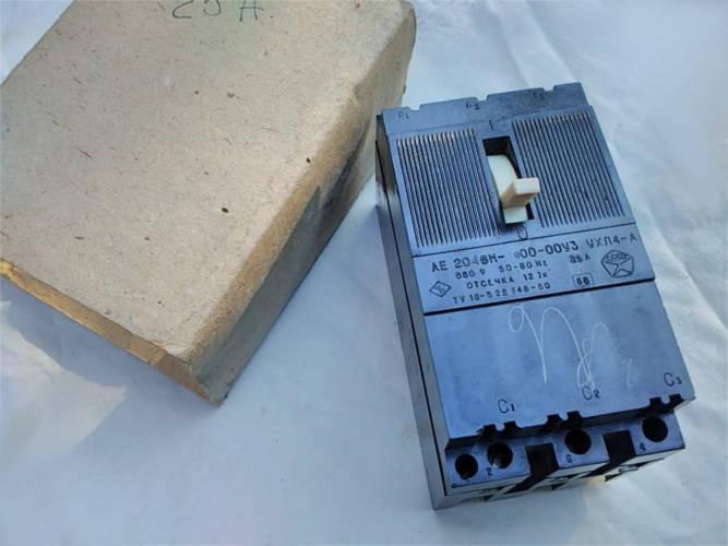 Автоматический выключатель АЕ 2048 М 100-00УВ