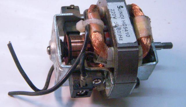 Электродвигатель для бытового фена