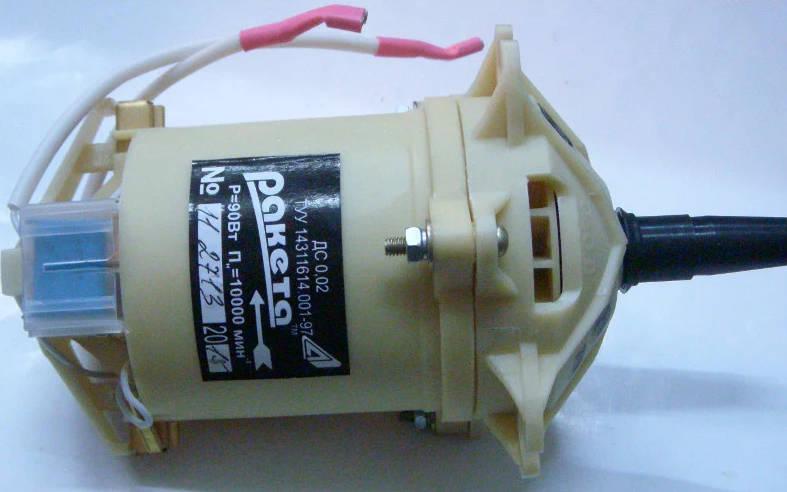 Электродвигатель 10000 об/мин 90 Вт для сепаратора Мотор-Сич