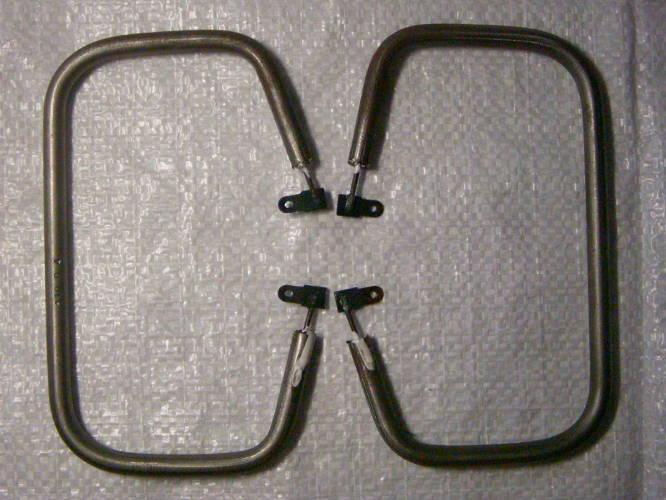 Комплект нагревательных тенов 8 мм для советской электровафельницы