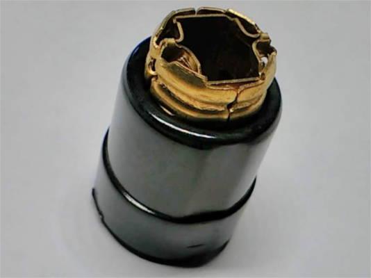 Круглый щеткодержатель d22*24*27-h33-w7.5*11 на коллектор цепной электропилы