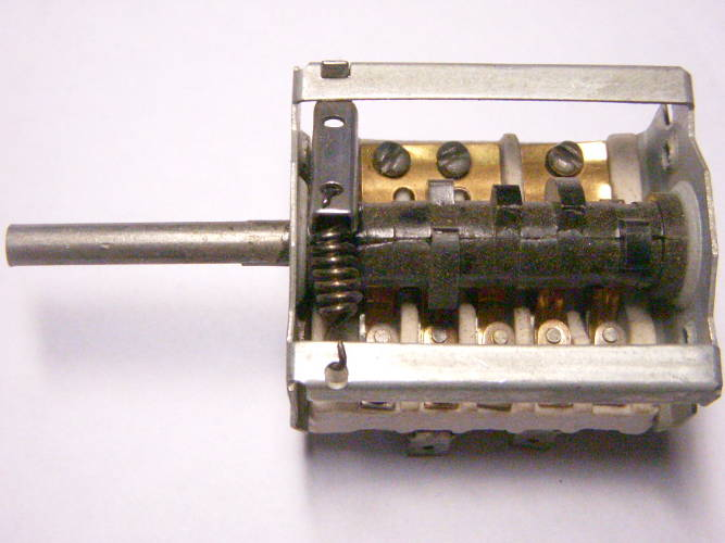 Керамический переключатель ПМ-7 для электроплиты Электра 1001