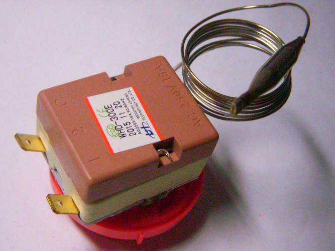 Терморегулятор до 300°C на 16А для электродуховки, паяльника