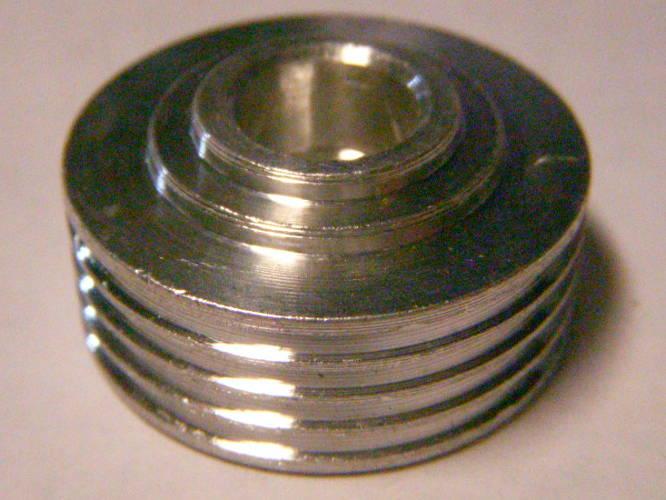 Шкив 30 мм высотой 15 мм под 4-х ручейный ремень электрорубанка