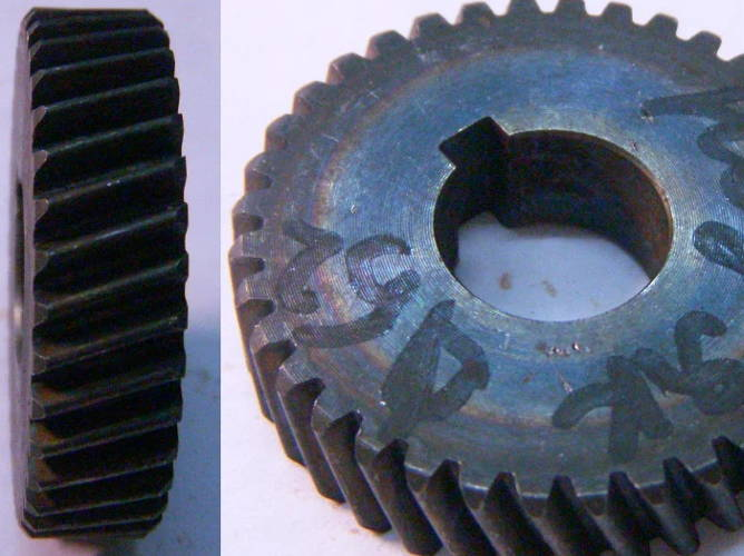 Шестерня дисковой электропилы с переворотом Craft-Tec, Ижмаш, Тайга, Ворскла ПМЗ 2000с