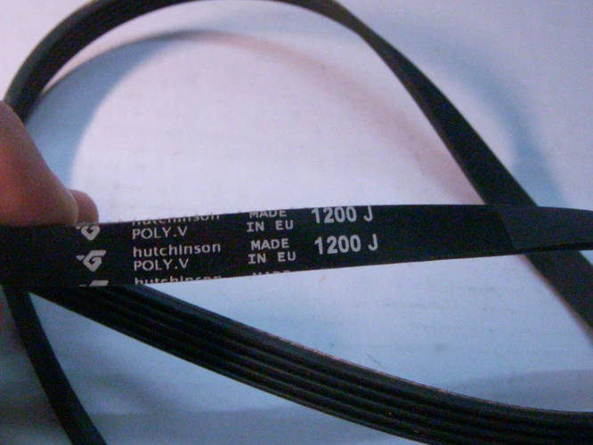 Ремень 1200J для стиральной машины Zanker Champion EF 4244