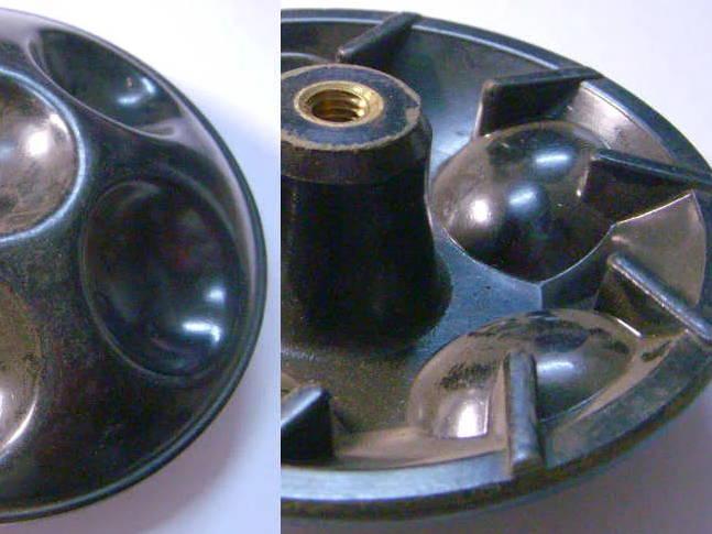 Активатор 118 мм для стиральной машины Малютка, Отрада, Десна на правую резьбу