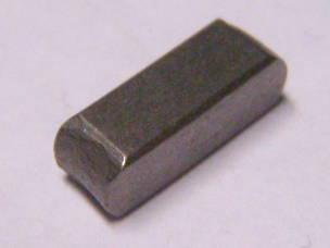 Прямоугольная шпонка 12*4*4 для электрокосы
